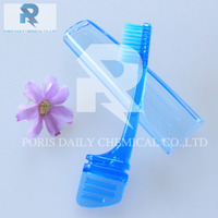 New arrival high quality foldable wholesale customized travel mini toothbrush