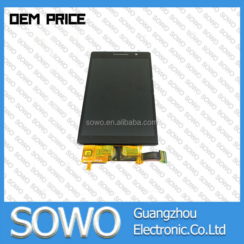 Low price china mobile phone repair parts for huawei ascend p6 lcd and digitizer