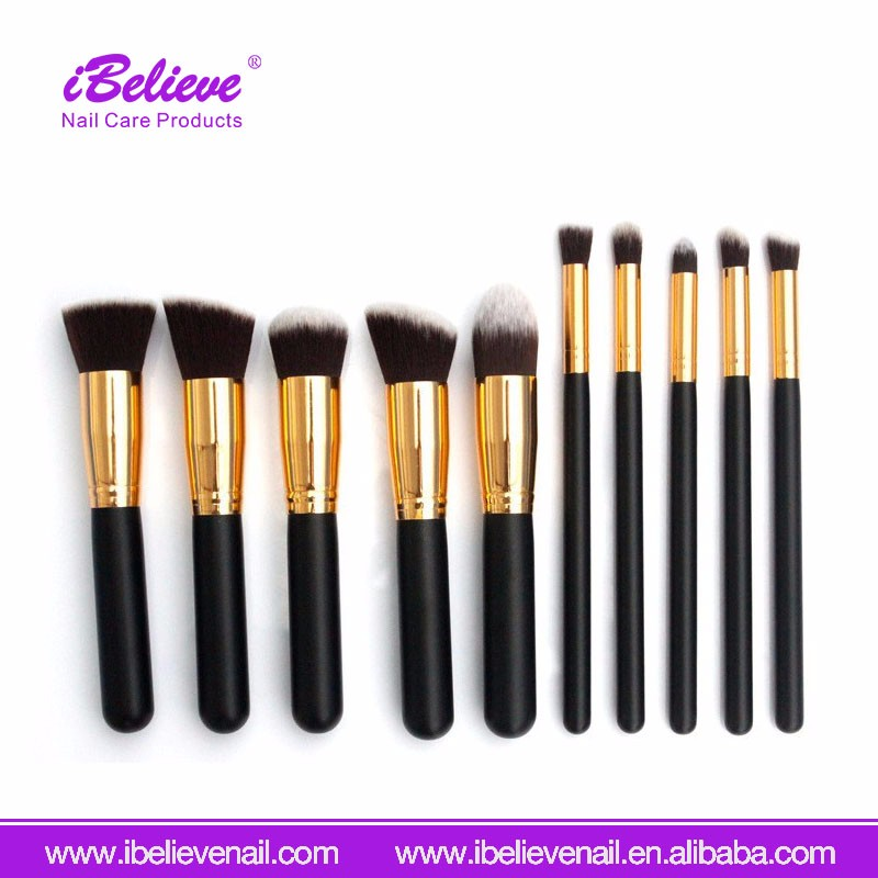 Europe Hot Sale Women Makeup Brush Professional Cosmetic Nylon Hair Makeup Brush
