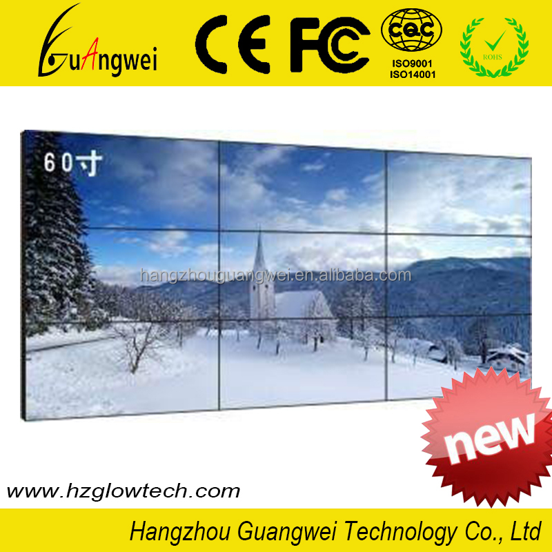 "GW-SD066 49 "" Splicing screen LCD Video Wall with 3.5 mm seam 450 nit 1920*1080"