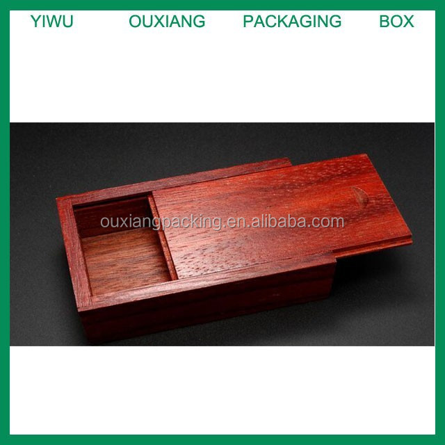 solid wood hot sale usb flash drive gift packing box