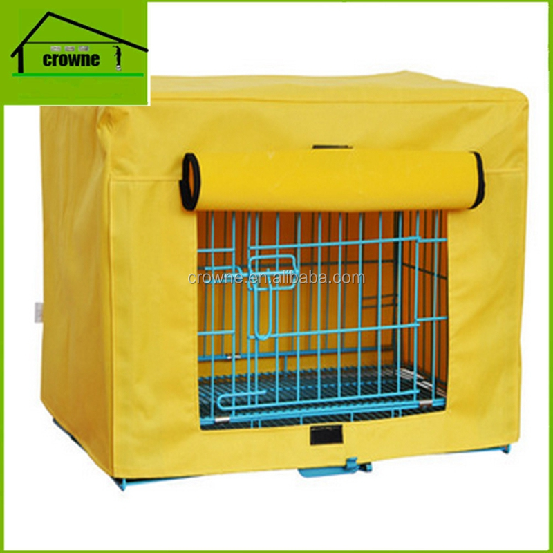 Folding large puppy training cage