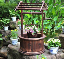 Decorative Wooden Wishing Well / Garden Wishing Well /Wedding Wishing Well