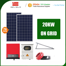 7kw 10kw 12kw 15kw 20kw 22kw 30kw 40kva home balcony hanging solar panel power off-grid system