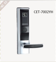Cet-7002 series smart hotel rf lock Zinc Alloy Electronic RFID Card Digital Hotel Door Lock