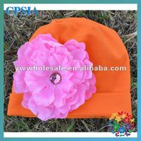 2012 Hot Style Knitted Beanie Hats With Flower