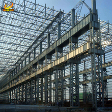 Large span prefabricated functional industrial warehouse