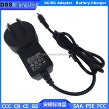 SAA approval 4.2V1A Australian standard lithium battery charger