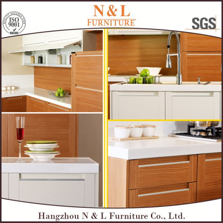 2014 Supply Cheap Cost MFC Kitchen, melamine kitchen (Model: 2020) pvc kitchen skirting