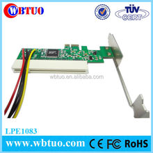 WBTUO pci express1X male to PCI 16X female adapter pcie to pci converter card