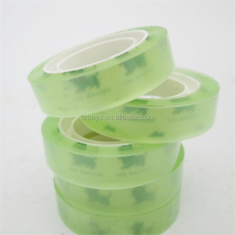 Stationery BOPP adhesive tape with plastic core