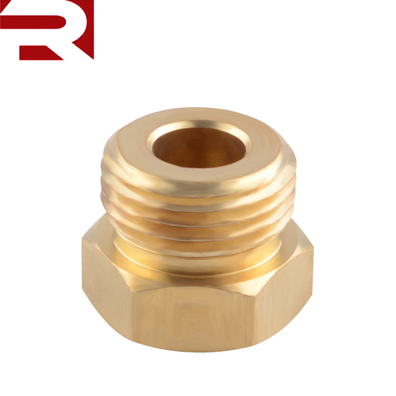 Brass 1/8 NPT Female to M18*1.5 Male Oil Gauge Oil Temperature Sensor <strong>Sump</strong> <strong>Plug</strong> Adaptor
