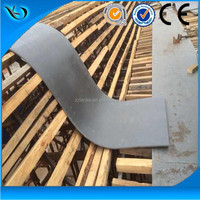 Much better than cutting board wood!!! Plastic Shutter Formwork For Concrete