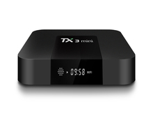 TX3 mini Android 7.1 tv box 1g/16g Amlogic S905W penta core 1g+16g 4k hd streaming media player 1g ram 16g rom