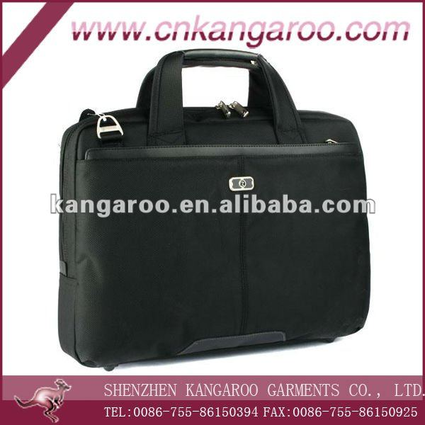 Multifunction Nylon PVC Laptop Briefcase; Durable New Design PC Bags; Heavy duty Personal Computer Bags