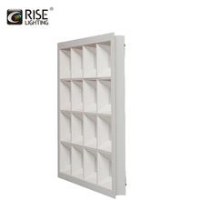 36w square surface mounted 600x600 led panel light saa ce rohs
