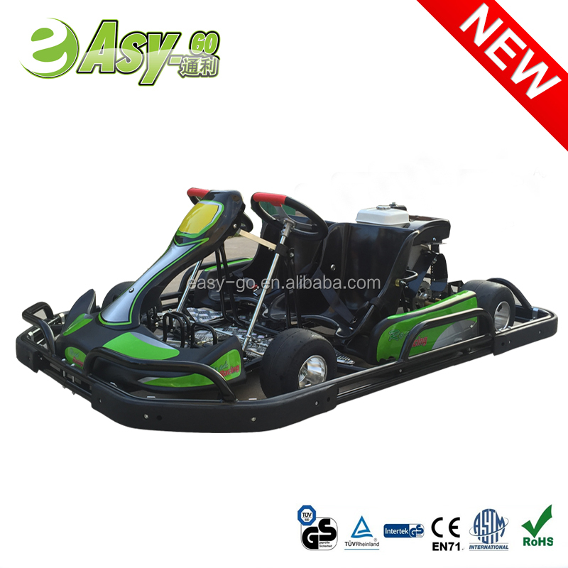 2016 newest double seat cheap go kart parts hot on sale