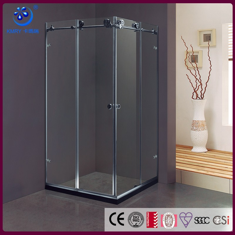 KT8012 Whole Shower 304 stainless steel Room Complete Square Sliding Mobile Sex Shower Room