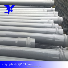 China BS EN ISO 1452 DIN 8063 Manufacturer 12 inch 250mm diameter pvc pipe With ISO9001