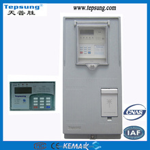 electrical utility kwh meter box