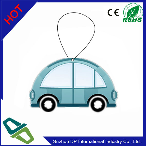 Promotion Cotton Paper Car Air Freshener Hanging Car and Home Air Freshener