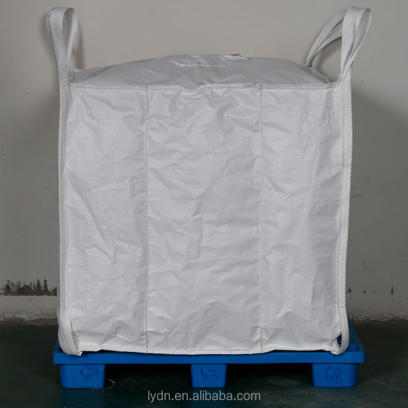 1 tonne bulk bags PP woven big bags for packing rock and sand FIBC container