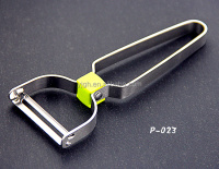 P023 Factory direct price stainless steel potato piece slice Y peeler As Seen On TV