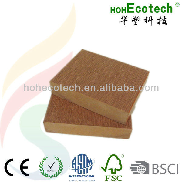 Eco-friendly wpc solid decking board