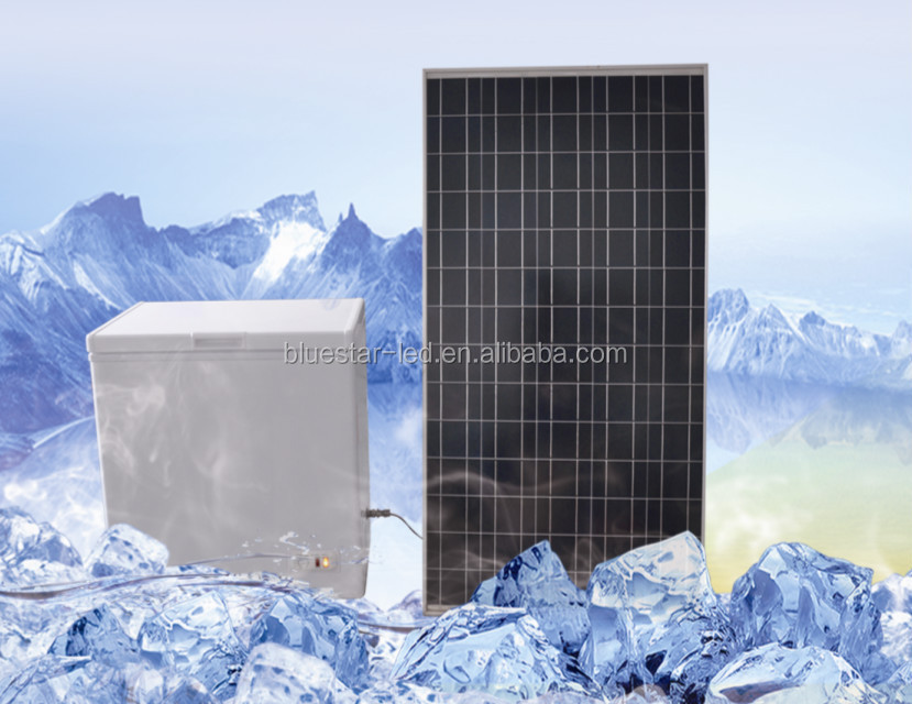 solar freezer with high performance lithium battery and greatly cheap price