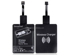 QI Wirelss charger pad+universal Wireless Charger Receiver For iPhone and Android smartphone