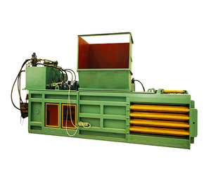 Cheap waste compactor hire bale press baler machine manufacturer india for sale