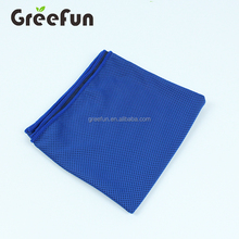 Custom 12*40'' Fast Dry Microfiber Cooling Fabric Towel for Sports Gym Workout Fitness Running , Hot Sale Snap Ice Cool Headband