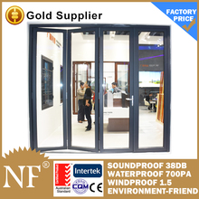 glass veranda bifolding patio doors