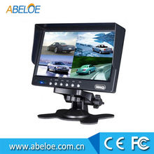 Cheap car monitor stand , 7 inch lcd car monitor , 7 inch hd display car monitor