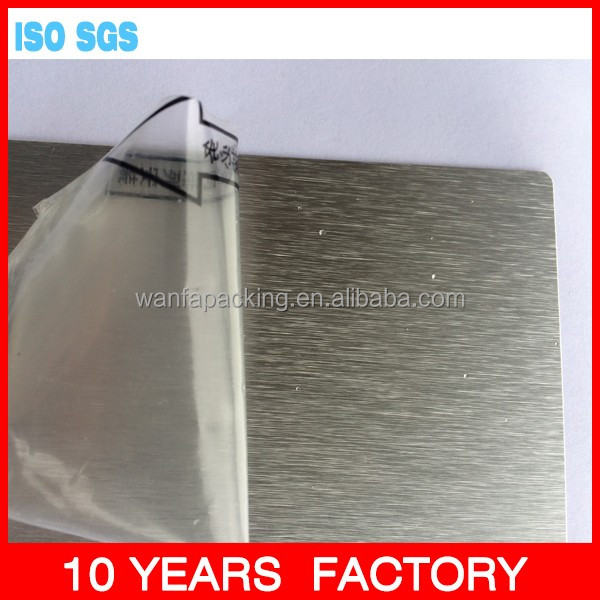 Wanfa PVC protective film for Metal or PVC Sheets or Coils