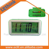 Cheap small kids alarm clock with backlight