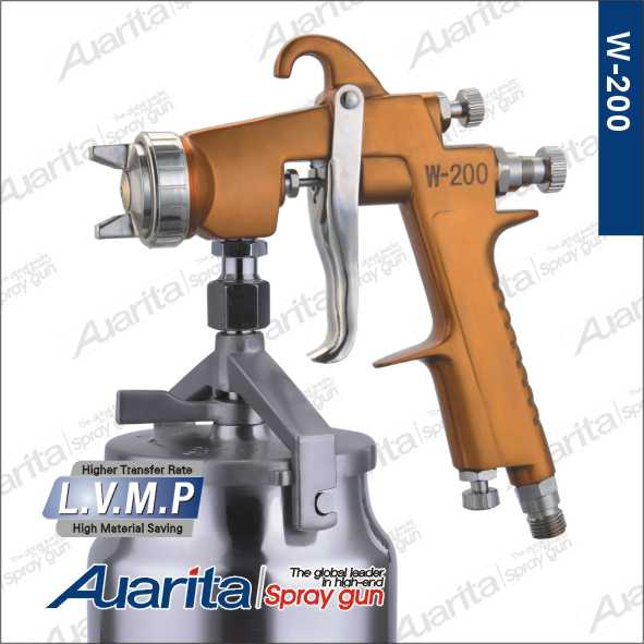 Spray Gun Manufacturer High Quality Professional LVMP Air paint spray gun W-200