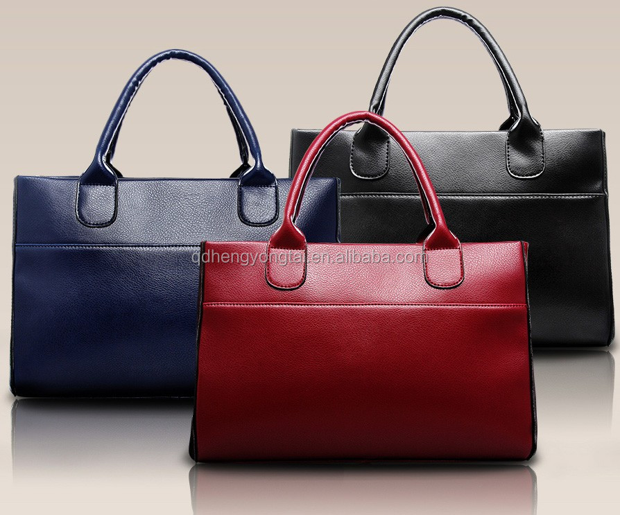 real leather handbags manufacturer Lady casual bags leather woman daily bag