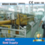 PLC control 30TPD crude palm oil physical refinery equipment