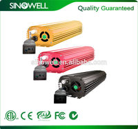 hydroponics double ended lamp electronic ballast 1000w, 1000w electronic ballast with fan, hydroponic garden