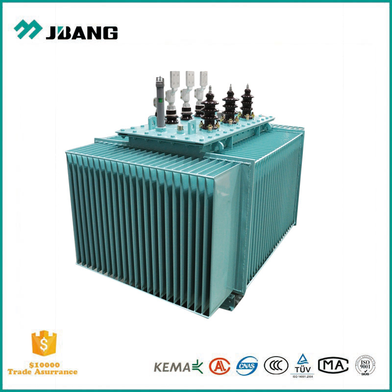 power supply system used 11kv 63kva electrical oil transformer