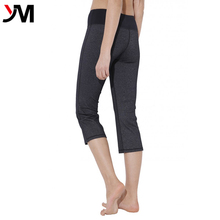 Factory cheap wholesale fitness wear women sexy seamless capri yoga pants for running/jogging/yoga