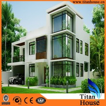 Australia standard China Manufacture Luxury Modern Cheap Prefabicate Home villa