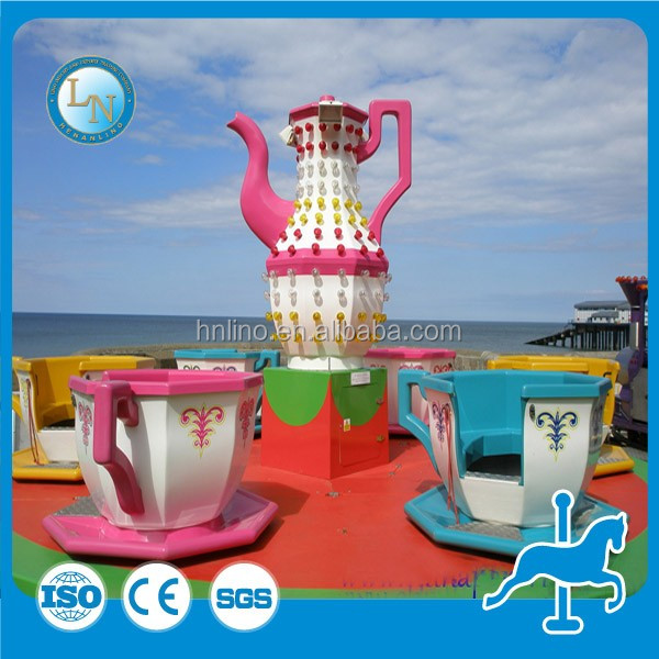 2017 Carnival games!High quality theme park family funfair coffee cup /fairground tea cup rides for sale