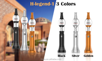 Wholesale H-legend electronic glass tobacco hookah pen shisha with battery kit from HKDA
