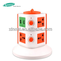micro usb socket ABS fireproof socket same usb wall outlet Vertical socket Receptacle