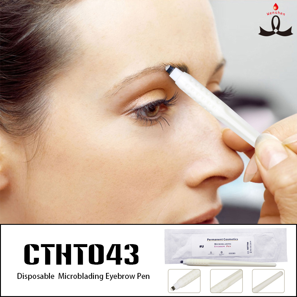 Disposable Manual Tattoo Pen For Permanent Makeup