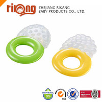 Factory Wholesale Food Grade Baby Soft Teether Toy