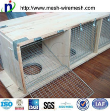 six rooms Galvanized & Stainless Steel Mink Cages