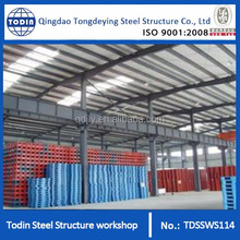 Stable Durable Large Span Steel Frame Structure Workshop